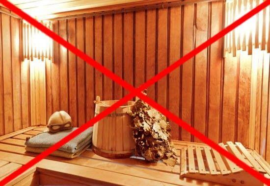 Сауны и бани под запретом