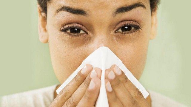 Аллергия как причина выделений