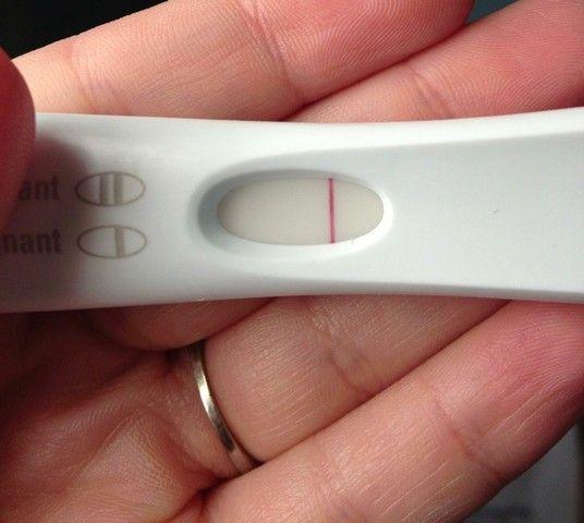 Тест на беременность отрицательный